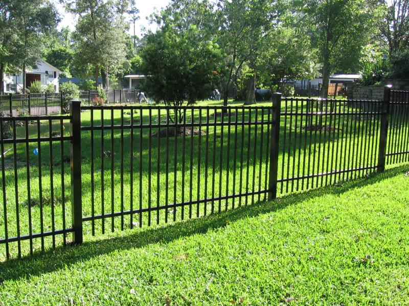 Steel & Aluminum Fence Installation Chicago
