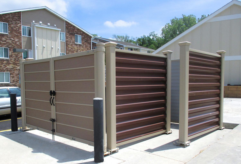 Dumpster Enclosures Installation Chicago